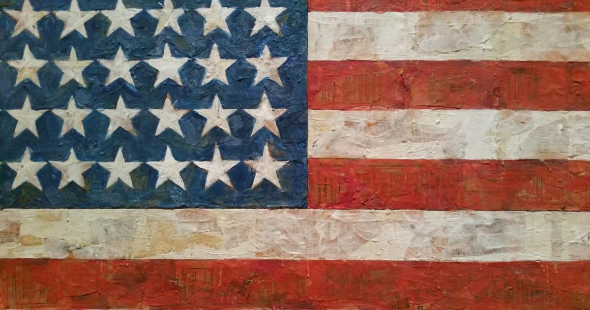 MoMA Jasper Johns Flag | is ned org